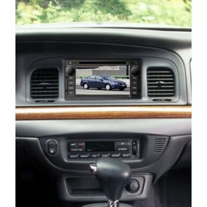 Ford Crown Victoria S160 Android 4.4.4 Autoradio GPS DVD avec HD Ecran tactile Support Smartphone Bluetooth kit main libre Microphone RDS CD SD USB 3G Wifi TV MirrorLink - S160 Android 4.4.4 Autoradio Lecteur DVD GPS Compatible pour Ford Crown Victoria