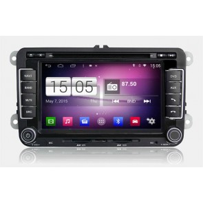 Seat Altea S160 Android 4.4.4 Autoradio GPS DVD avec HD Ecran tactile Support Smartphone Bluetooth kit main libre Microphone RDS CD SD USB 3G Wifi TV MirrorLink - S160 Android 4.4.4 Autoradio Lecteur DVD GPS Compatible pour Seat Altea (De 2004)-1