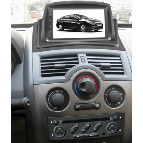 Renault Megane 2 S160 Android 4.4.4 Autoradio GPS DVD avec HD Ecran tactile Support Smartphone Bluetooth kit main libre Microphone RDS CD SD USB 3G Wifi TV MirrorLink - S160 Android 4.4.4 Autoradio Lecteur DVD GPS Compatible pour Renault Megane 2
