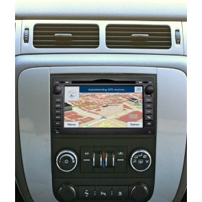 Chevrolet Tahoe S160 Android 4.4.4 Autoradio GPS DVD avec HD Ecran tactile Support Smartphone Bluetooth kit main libre Microphone RDS CD SD USB 3G Wifi TV MirrorLink - S160 Android 4.4.4 Autoradio Lecteur DVD GPS Compatible pour Chevrolet Tahoe (2007-2012