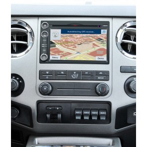 Ford F-250 S160 Android 4.4.4 Autoradio GPS DVD avec HD Ecran tactile Support Smartphone Bluetooth kit main libre Microphone RDS CD SD USB 3G Wifi TV MirrorLink - S160 Android 4.4.4 Autoradio Lecteur DVD GPS Compatible pour Ford F-250 (2005-2013)