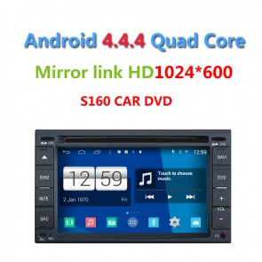 Nissan X-trail S160 Android 4.4.4 Autoradio GPS DVD-1