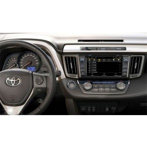 Toyota RAV4 S160 Android 4.4.4 Autoradio GPS DVD avec HD Ecran tactile Support Smartphone Bluetooth kit main libre Microphone RDS CD SD USB 3G Wifi TV MirrorLink - S160 Android 4.4.4 Autoradio Lecteur DVD GPS Compatible pour Toyota RAV4 (De 2013)