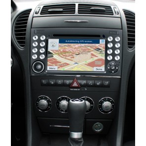Mercedes SLK R171 S160 Android 4.4.4 Autoradio GPS DVD avec HD Ecran tactile Support Smartphone Bluetooth kit main libre Microphone RDS CD SD USB 3G Wifi TV MirrorLink - S160 Android 4.4.4 Autoradio Lecteur DVD GPS Compatible pour Mercedes SLK R171