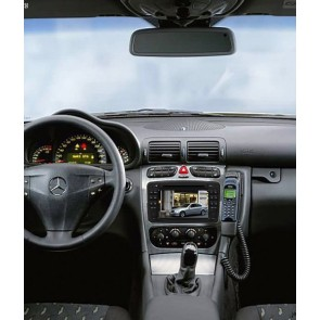 Mercedes CLK W208 S160 Android 4.4.4 Autoradio GPS DVD avec HD Ecran tactile Support Smartphone Bluetooth kit main libre Microphone RDS CD SD USB 3G Wifi TV MirrorLink - S160 Android 4.4.4 Autoradio Lecteur DVD GPS Compatible pour Mercedes CLK W208