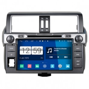 Toyota Land Cruiser S160 Android 4.4 Autoradio GPS DVD-1