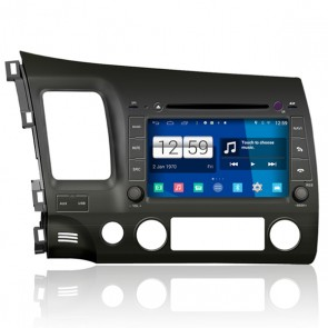 Honda Civic S160 Android 4.4.4 Autoradio GPS DVD-1