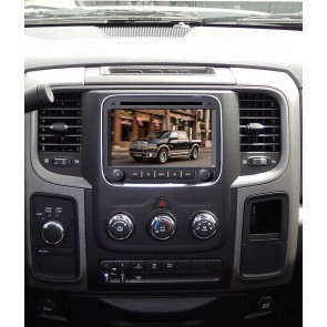 Dodge RAM 1500 S160 Android 4.4.4 Autoradio GPS DVD avec HD Ecran tactile Support Smartphone Bluetooth kit main libre Microphone RDS CD SD USB 3G Wifi TV MirrorLink - S160 Android 4.4.4 Autoradio Lecteur DVD GPS Compatible pour Dodge RAM 1500 (De 2013)