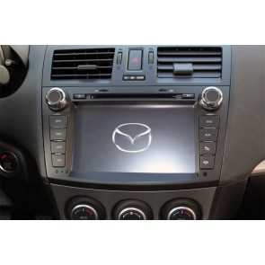 Mazda 3 S160 Android 4.4.4 Autoradio GPS DVD avec HD Ecran tactile Support Smartphone Bluetooth kit main libre Microphone RDS CD SD USB 3G Wifi TV MirrorLink - S160 Android 4.4.4 Autoradio Lecteur DVD GPS Compatible pour Mazda 3 (2009-2013)