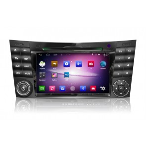 Mercedes CLS W219 S160 Android 4.4.4 Autoradio GPS DVD avec HD Ecran tactile Support Smartphone Bluetooth kit main libre Microphone RDS CD SD USB 3G Wifi TV MirrorLink - S160 Android 4.4.4 Autoradio Lecteur DVD GPS Compatible pour Mercedes CLS W219