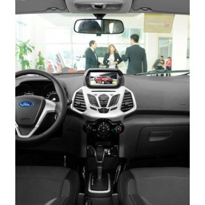 Ford EcoSport S160 Android 4.4.4 Autoradio GPS DVD avec HD Ecran tactile Support Smartphone Bluetooth kit main libre Microphone RDS CD SD USB 3G Wifi TV MirrorLink - S160 Android 4.4.4 Autoradio Lecteur DVD GPS Compatible pour Ford EcoSport (De 2013)