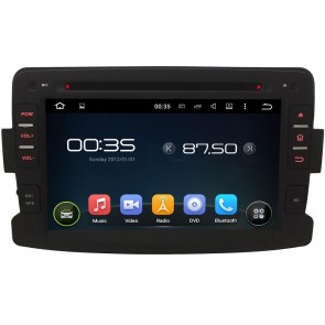 Renault Lodgy Android 5.1.1 Autoradio DVD GPS Navigation avec Ecran tactile Bluetooth Parrot Telecommande au Volant DAB+ Microphone RDS CD SD USB 3G Wifi TV MirrorLink OBD2 - Android 5.1.1 Autoradio Lecteur DVD GPS Compatible pour Renault Lodgy
