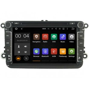 Android 7.1.1 Autoradio Lecteur DVD GPS Compatible pour Skoda Roomster (2006-2015)-1