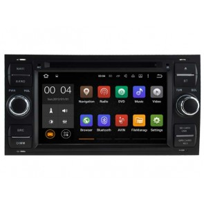 Android 7.1.1 Autoradio Lecteur DVD GPS Compatible pour Ford S-Max (2005-2009)-1