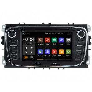 Android 7.1.1 Autoradio Lecteur DVD GPS Compatible pour Ford S-Max (2008-2012)-1