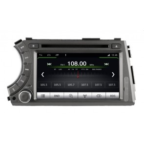 SsangYong Kyron S160 Android 4.4.4 Autoradio GPS DVD avec HD Ecran tactile Support Smartphone Bluetooth kit main libre Microphone RDS CD SD USB 3G Wifi TV MirrorLink - S160 Android 4.4.4 Autoradio Lecteur DVD GPS Compatible pour SsangYong Kyron (2005-2015