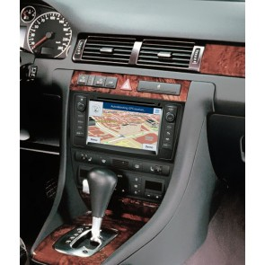 Audi A6 S160 Android 4.4.4 Autoradio GPS DVD avec HD Ecran tactile Support Smartphone Bluetooth kit main libre Microphone RDS CD SD USB 3G Wifi TV MirrorLink - S160 Android 4.4.4 Autoradio Lecteur DVD GPS Compatible pour Audi A6 (1997-2004)