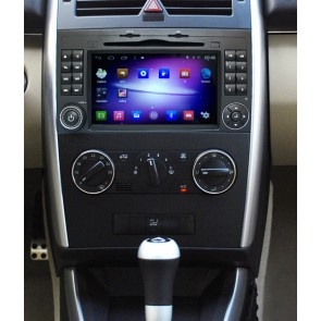 Mercedes Classe A W169 S160 Android 4.4.4 Autoradio GPS DVD avec HD Ecran tactile Support Smartphone Bluetooth kit main libre Microphone RDS USB 3G Wifi TV MirrorLink - S160 Android 4.4.4 Autoradio Lecteur DVD GPS Compatible pour Mercedes Classe A W169