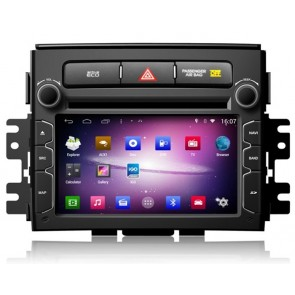 Kia Soul S160 Android 4.4.4 Autoradio GPS DVD avec HD Ecran tactile Support Smartphone Bluetooth kit main libre Microphone RDS CD SD USB 3G Wifi TV MirrorLink - S160 Android 4.4.4 Autoradio Lecteur DVD GPS Compatible pour Kia Soul (2012-2013)