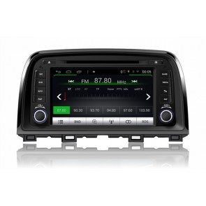 Mazda 6 S160 Android 4.4.4 Autoradio GPS DVD avec HD Ecran tactile Support Smartphone Bluetooth kit main libre Microphone RDS CD SD USB 3G Wifi TV MirrorLink - S160 Android 4.4.4 Autoradio Lecteur DVD GPS Compatible pour Mazda 6 (De 2012)