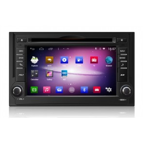 Hyundai H1 S160 Android 4.4.4 Autoradio GPS DVD avec HD Ecran tactile Support Smartphone Bluetooth kit main libre Microphone RDS CD SD USB 3G Wifi TV MirrorLink - S160 Android 4.4.4 Autoradio Lecteur DVD GPS Compatible pour Hyundai H1 (De 2007)
