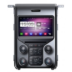 S160 Android 4.4.4 Autoradio Lecteur DVD GPS Compatible pour Ford F-150 (2013-2015)-1