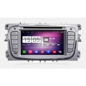 S160 Android 4.4 Autoradio Lecteur DVD GPS Compatible pour Ford S-Max (2008-2012)-1