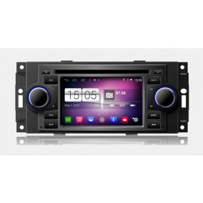 S160 Android 4.4.4 Autoradio Lecteur DVD GPS Compatible pour Chrysler Town & Country (2002-2007)-1