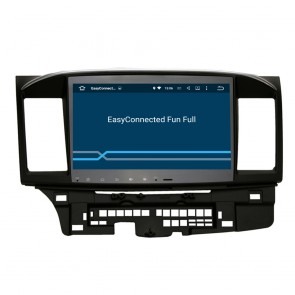 Mitsubishi Galant Fortis Android 5.1.1 Autoradio DVD GPS Navigation Avec Ecran tactile capacitif Bluetooth RDS CD USB SD TV 3G Wifi Internet MirrorLink OBD2 - Android 5.1.1 Autoradio Lecteur DVD GPS Compatible pour Mitsubishi Galant Fortis (2007-2016)