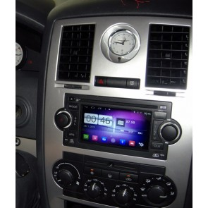 Dodge Charger S160 Android 4.4.4 Autoradio GPS DVD avec HD Ecran tactile Support Smartphone Bluetooth kit main libre Microphone RDS CD SD USB 3G Wifi TV MirrorLink - S160 Android 4.4.4 Autoradio Lecteur DVD GPS Compatible pour Dodge Charger (2005-2007)