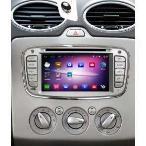 Ford Mondeo S160 Android 4.4.4 Autoradio GPS DVD avec HD Ecran tactile Support Smartphone Bluetooth kit main libre Microphone RDS CD SD USB 3G Wifi TV MirrorLink - S160 Android 4.4.4 Autoradio Lecteur DVD GPS Compatible pour Ford Mondeo (2007-2014)
