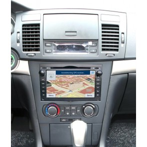 Chevrolet Aveo S160 Android 4.4.4 Autoradio GPS DVD avec HD Ecran tactile Support Smartphone Bluetooth kit main libre Microphone RDS CD SD USB 3G Wifi TV MirrorLink - S160 Android 4.4.4 Autoradio Lecteur DVD GPS Compatible pour Chevrolet Aveo (2002-2011)