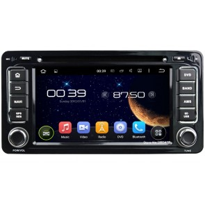 Mitsubishi Pajero IV Android 5.1.1 Autoradio DVD GPS Navigation avec Ecran tactile Bluetooth Parrot Telecommande au Volant DAB+ Microphone RDS USB 3G Wifi TV MirrorLink OBD2 - Android 5.1.1 Autoradio Lecteur DVD GPS Compatible pour Pajero IV (2006-2015)